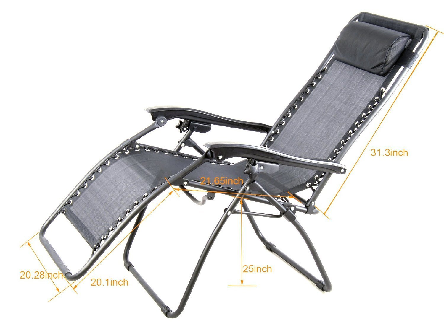 Outsunny Zero Gravity Recliner Review The No Brainer Chair